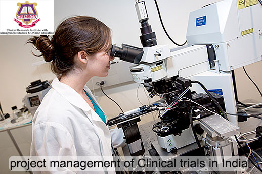 project-management-of-Clinical-trials-in-India