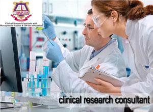 Looking For Clinical Research Consultant www.crimson.org.in